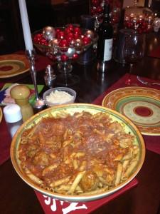 Marinara Sauce over Pasta